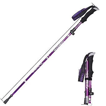 Outdoor Portable- Collapsible Trekking Poles, Hiking, Walking Stick