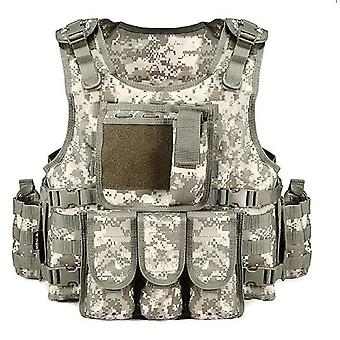 Multi-functional breathable vest outdoor quick disassembly
