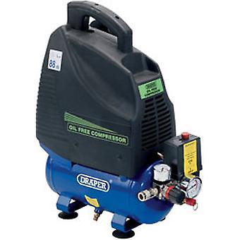 L دريبر 6 Da6/169 230V 1.1Kw (1.5Hp) ضاغط هواء خالية من الزيت