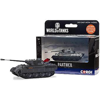 Corgi World of Tanks - Panther Tank Gegoten Model