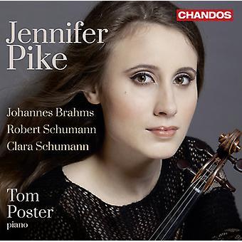 Brahms/Schumann, R./Schumann, C. - Robert Schumann, Brahms, Clara Schumann: vioolsonates [CD] USA import