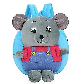 Punainen pieni karhut lapset'vauvan muhkea lelu pieni koululaukku reppu sarjakuva laukku