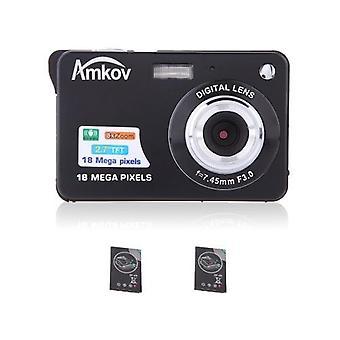 Kompakt HD digitalkamera videokamera 18MP 2.7