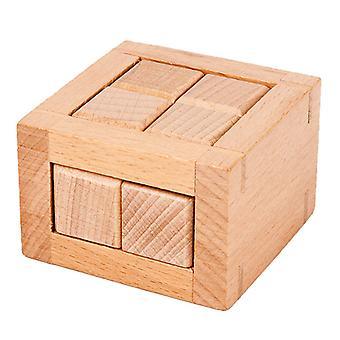 Koulutuksellinen puinen palapeli lelu