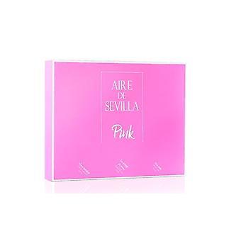 Sevilla Pink Air Case, 3 Artikel