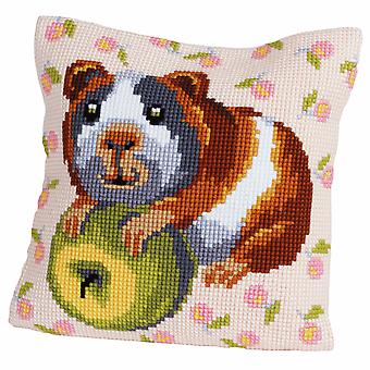 Collection d'Art Cross Stitch Kit: Cushion: Hungry Harry