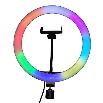 10 Inch rgb ring light photography lamp beauty
