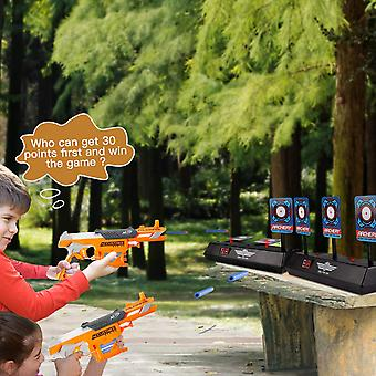 Electric Scoring Auto Reset Shooting Digital Target Toys For Boys