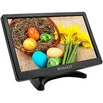 Wokex Full HD LCD-Bildschirm, Tragbar 12 Zoll CCTV Monitor
