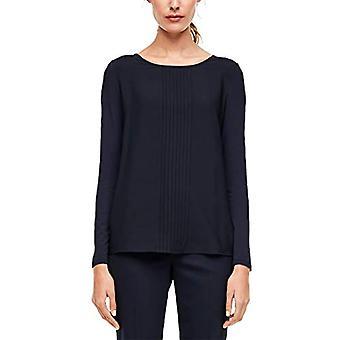 s.Oliver BLACK LABEL 150.10.002.12.130.2012224 T-Shirt, Navy Blue, 48 Woman