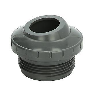 """AquaStar 8105 1.5"""" MPT ojo direccional tres piezas montaje - gris claro"""