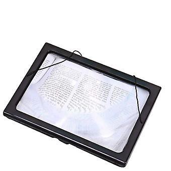 Lente d'ingrandimento da lettura con luce a LED, lente d'ingrandimento stereo pieghevole