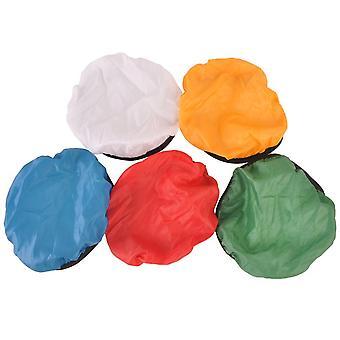 5Pcs fotografie lichte schaduw doek zachte diffuser cover blauw / rood / groen / wit / geel voor 45 ° / 55 ° studio