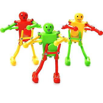 Wind Up Dancing Robot Toy For Children Kid Funny Classic Toys