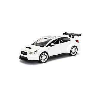 Subaru Impreza WRX STi Mr Little Nobody's Car Diecast Model Car de Fast And Furious 8