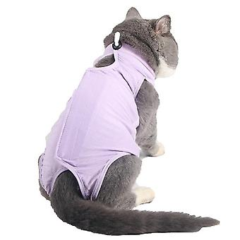 Cat surgical gown female cat sterilization clothing surgical gown anti-licking pet cat clothes