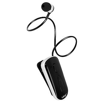 Bluetooth Earbud Multipoint 2 Phones Control Buttons LinQ K36 Black