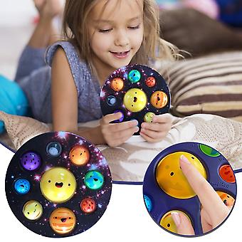 Fidjet Toy Mini 17cm Simple Dimple Sensory Fidget Toys Simulation Planet Kawaii Color Simpl Dimmer Squeeze Relief Stress Anxiety Toy