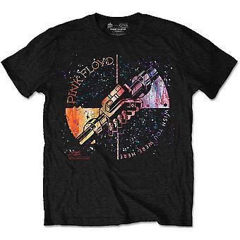 Pink Floyd - Machine Greeting Orange Unisex Großes T-Shirt - Schwarz