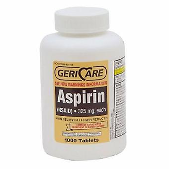 McKesson Pain Relief Geri-Care 325 mg Forza Aspirina Compressa 1.000 per bottiglia, 1000 schede