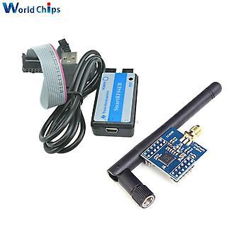Cc2530 zigbee module uart wireless core board development board cc2530f256 serial port wireless with smartrf04eb zigbee emulator