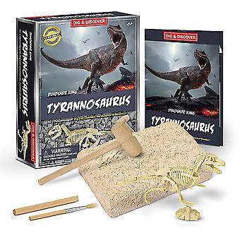 التيرانوصور الحفر حفر العلوم مجموعات الأطفال علم الآثار ألعاب الحزب