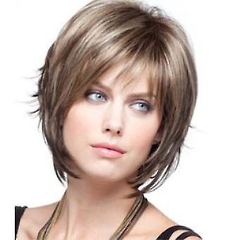 Women's Wigs Synthetic Hair Wig High-temperature Silk Short Micro-curly Hair