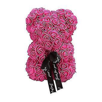 Подарок на день святого Валентина 25 см роза медведь день рождения подарок £? день памяти подарок плюшевый мишка (Роза Красная)
