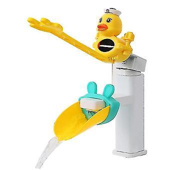 2pcs/setAucet extender pour enfants lavage des mains artefact bébé extension en silicone anti-éclaboussures