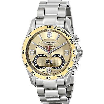 Victorinox Men's Classic Gold Dial Watch - 241619