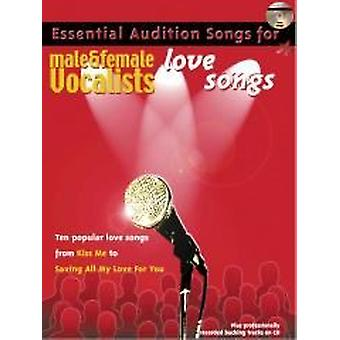 Essential Audition Songs: Love Songs (PVG/CD)