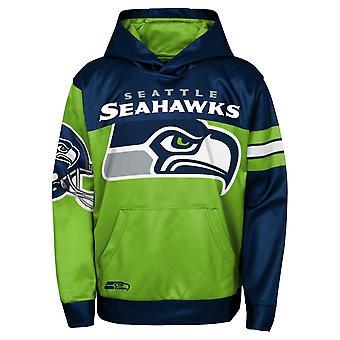 Kids NFL Sublimated Hoody - GOAL Seattle Seahawks