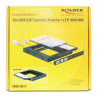 """SATA 5.25"""" Case for SATA 2.5"""" DELOCK 61993 HDD / SSD"""