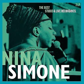Nina Simone - Den bästa studion & liveinspelningar Vinyl