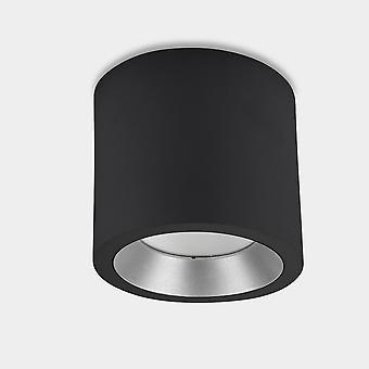 LEDS C4 Cosmos LED Ã ̧126mm Extérieur LED Surface Mounted Downlight Petit Noir IP65 12W 4000K