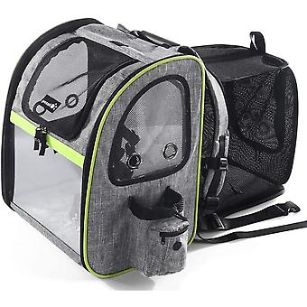 Go Out Portable Foldable Expandable Pet Breathable Backpack
