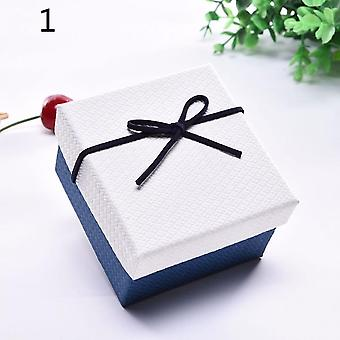 Gift Watch Bracelet Box Packaging Jewelry Durable Bangle Bowknot Storage Case