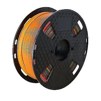 3D printer accessories diy 3d printer filament pla 1.75Mm 1kg /roll multi colors 3d printing pen plastic wire rubber