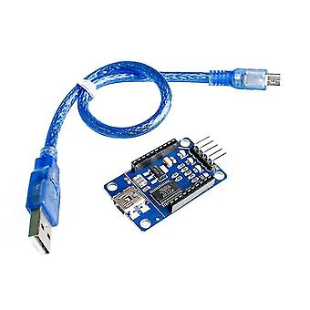 Motherboards 5sets xbee explorer xbee usb mini adapter module board base shield multifunction