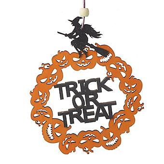 Heaven Sends Trick or Treat Halloween Decoration Sign