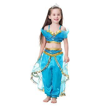 Dance Dress Dress Children Dress Girl Jasmine Princess Dress Girl Dress