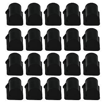 20 x Corne Silicone Pads Flat Key Euphonium Horn Piston Rubber Pads