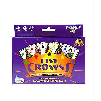 Enterprises Five Crowns Card Game