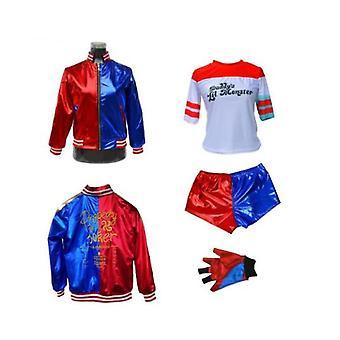 Lány gyerekek Harley Quinn Halloween jelmez Suicide Squad Cosplay ruhák
