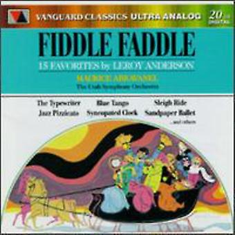 Fiddle Faddle - Fiddle Faddle [CD] USA import