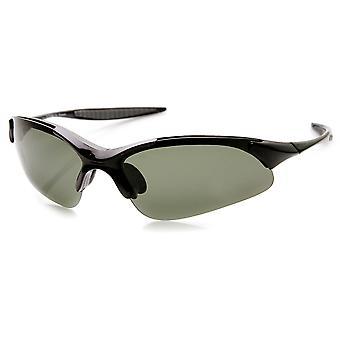 رياضية خفيفة الوزن TR90 شاتيربروف سترة نصف عدسة الاستقطاب النظارات الشمسية