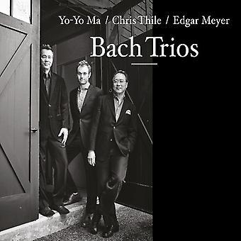 Yo-Yo Ma, Chris Thile & Edgar Meyer - Bach Trios [CD] USA import
