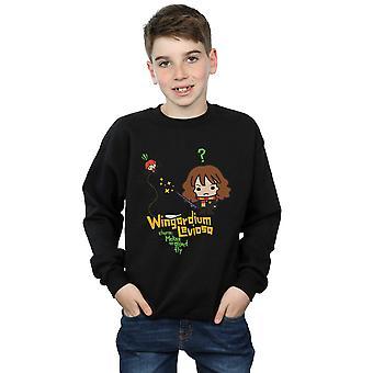 Los chicos de Harry Potter Hermione Granger Wingardium Leviosa Junior sudadera
