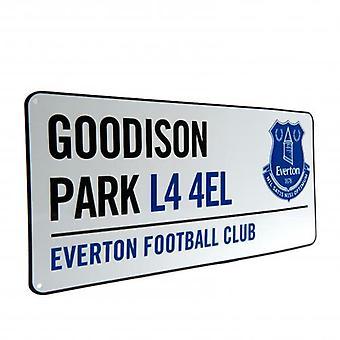 Everton straat teken