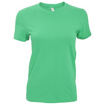 American Apparel womens/női sima rövid ujjú póló